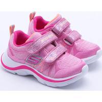 Tênis Skechers Swift Kicks Infantil Rosa 21