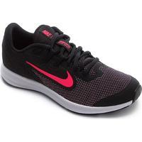 Tênis Infantil Nike Downshifter 9 Gs - Unissex-Preto+Rosa