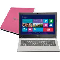 "Notebook Philco 14F-R724Ws - Rosa - Amd C-50 - Ram 4Gb - Hd 500Gb - Tela 14"" - Windows 7 Starter"