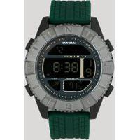 Relógio Digital Mormaii Masculino - Mo5334Ae8C Verde