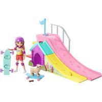 Boneca E Acessórios - Barbie - Chelsea E Pista De Skate - Mattel - Feminino