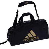 Bolsa Adidas Boxing Com Alça De Ombro Em Essential 50L - Unissex-Preto+Dourado