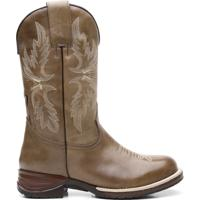 Bota Texana Osso Claro Com Texas Floather 56297 - Masculino-Marrom