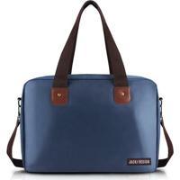 Bolsa Jacki Design P/ Viagem/Academia - Unissex-Azul