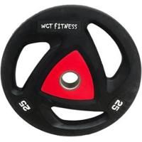 Anilha Olímpica Para Musculação 25Kg Wct Fitness - Unissex