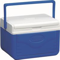 Caixa Térmica 5 Qt 4,7 Litros Com Alça E Porta-Latas - Coleman Azul