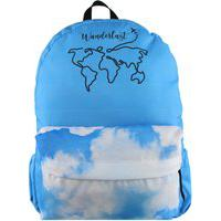 Mochila Escolar Lenna'S Wanderlust Azul