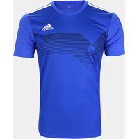 Camisa Adidas Campeon 19 Masculina - Masculino-Azul
