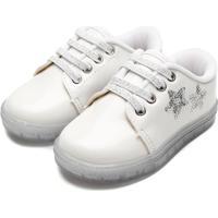 Tênis Pimpolho Infantil Estrelas Branco