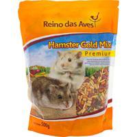 Ração Reino Das Aves Hamster Gold Mix Premium 500G