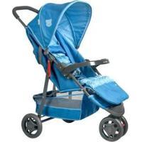 Carrinho De Bebê Voyage Delta 3 Rodas - Unissex-Azul