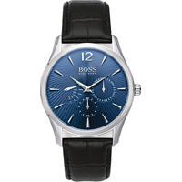 b5391c7fe53 Relógio Hugo Boss Masculino Couro Preto - 1513489