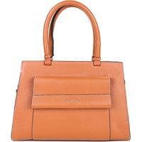 370901e8a7 ... Bolsa Dumond Handbag Relax Feminino - Feminino-Caramelo