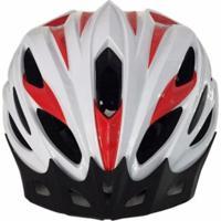Capacete Ciclismo Bike Ahead Sports Asm002G Branco G