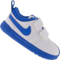 Tênis Para Bebê Nike Pico 5 Td - Baby - Branco/Azul