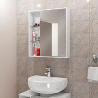 Armário Para Banheiro Miami Branco