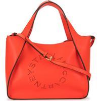 Stella Mccartney Bolsa Transversal Com Logo Stella - Vermelho