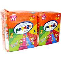 Fralda Papegu Baby Super Pacotao G - 240 Unidades + Ganhe Toalhinha Umedecida Papegu 50 Unidades
