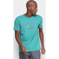 Camiseta Fila Estampada Authentic Masculina - Masculino