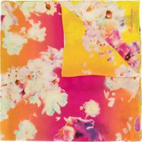 Ralph Lauren Collection Echarpe Degradê Com Estampa Floral - Estampado