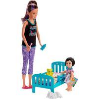 Barbie Skipper Babysitter Hora De Dormir - Mattel - Kanui