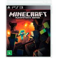 Jogo Ps3 - Minecraft - Playstation Edition - Mojang