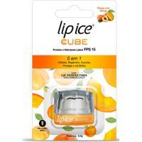 Lip Ice Cube Protetor E Hidratante Labial Fps15 - Pêssego Com Manga 6.5G