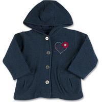 Casaco Infantil Soft Tweed Coração - Feminino