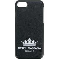 Dolce & Gabbana Capa Para Iphone 7/8 Com Logo - Preto