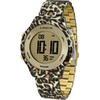 Relógio Lince Feminino Sdph102L Cxkp Dourado