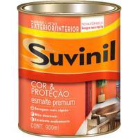 Esmalte Sintético Fosco 900Ml Preto Suvinil