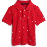Camiseta Tommy Hilfiger Kids Menino Estampa Vermelha