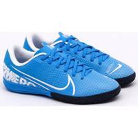 Chuteira Futsal Nike Mercurial Jr Vapor 13 Academy Ic Infantil Azul