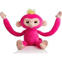 Pelúcia Interativa - Huglings - Monkey - Pink - Candide