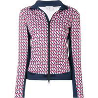 Rossignol Printed Zipped Jacket - Vermelho