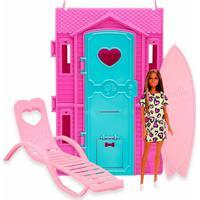 Boneca Barbie Com Playset Surf Studio Fun Modelos Diversos - Item Sortido