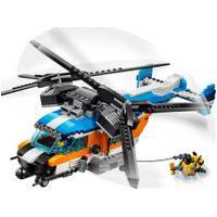 Lego Creator 31096 Helicóptero Duas Hélices - Lego