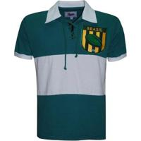 Camiseta Liga Retrô Brasil Rugby - Masculino