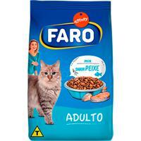 Ração Para Gatos Faro Adultos Sabor Peixe 1Kg