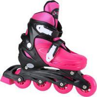 65e14efc745 Kit Patins Bel Sports Radical Rollers  Patins Ajustável + Kit De Proteção -  Infantil -