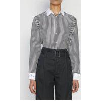 Camisa Seda Polo Ralph Lauren Listrada Branca