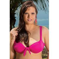 Sutiã Biquíni Embelleze Plus Size Rosa