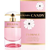 Prada Candy Florale Feminino Eau De Toilette 50Ml