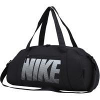 Mala Nike Gym Club - Feminina - Preto/Branco