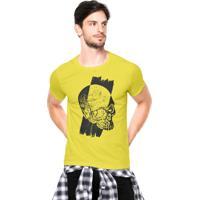 Camiseta Rgx Runned Over Amarelo