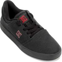Tênis Dc Shoes Crisis Tx La Adys Masculino - Masculino-Preto+Chumbo