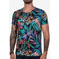 Camiseta Psyco Flowers 102452