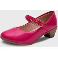 Sapato De Salto Pópidí Menina Basico Pink