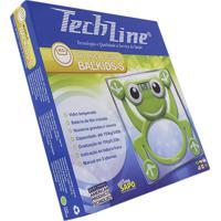 Balança Digital Infantil Techline Balkids-S Sapo Capacidade 150Kg