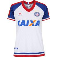 Camisa Do Bahia I 2018 Esquadrão - Feminina - Branco